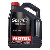 MOTUL SPECIFIC VW 505 01 502 00 5W-40 5л