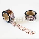 Кондитерська бордюрна стрічка з візерунками (висота 50 мм), рулон 100 м, фото 3