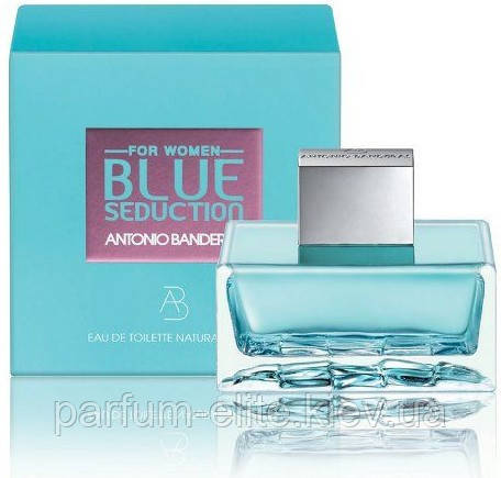 Жіноча туалетна вода Antonio Banderas Blue Seduction for Women 50ml