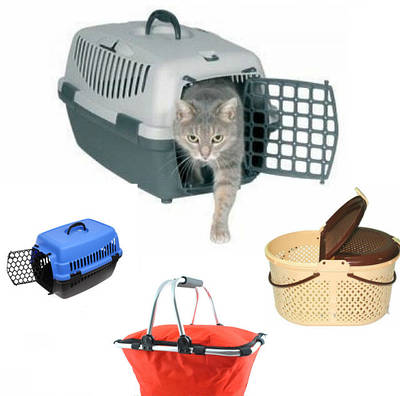Корзины для животных и для пикников