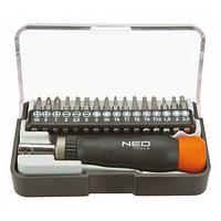 Набор инструментов NEO насадки прецизионные с держателем, 17 шт. (04-228)