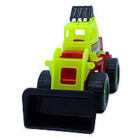 Дитяча іграшка Бульдозер Maximus «DIGGER землекоп»  арт. 5157 Зелено-Червоний