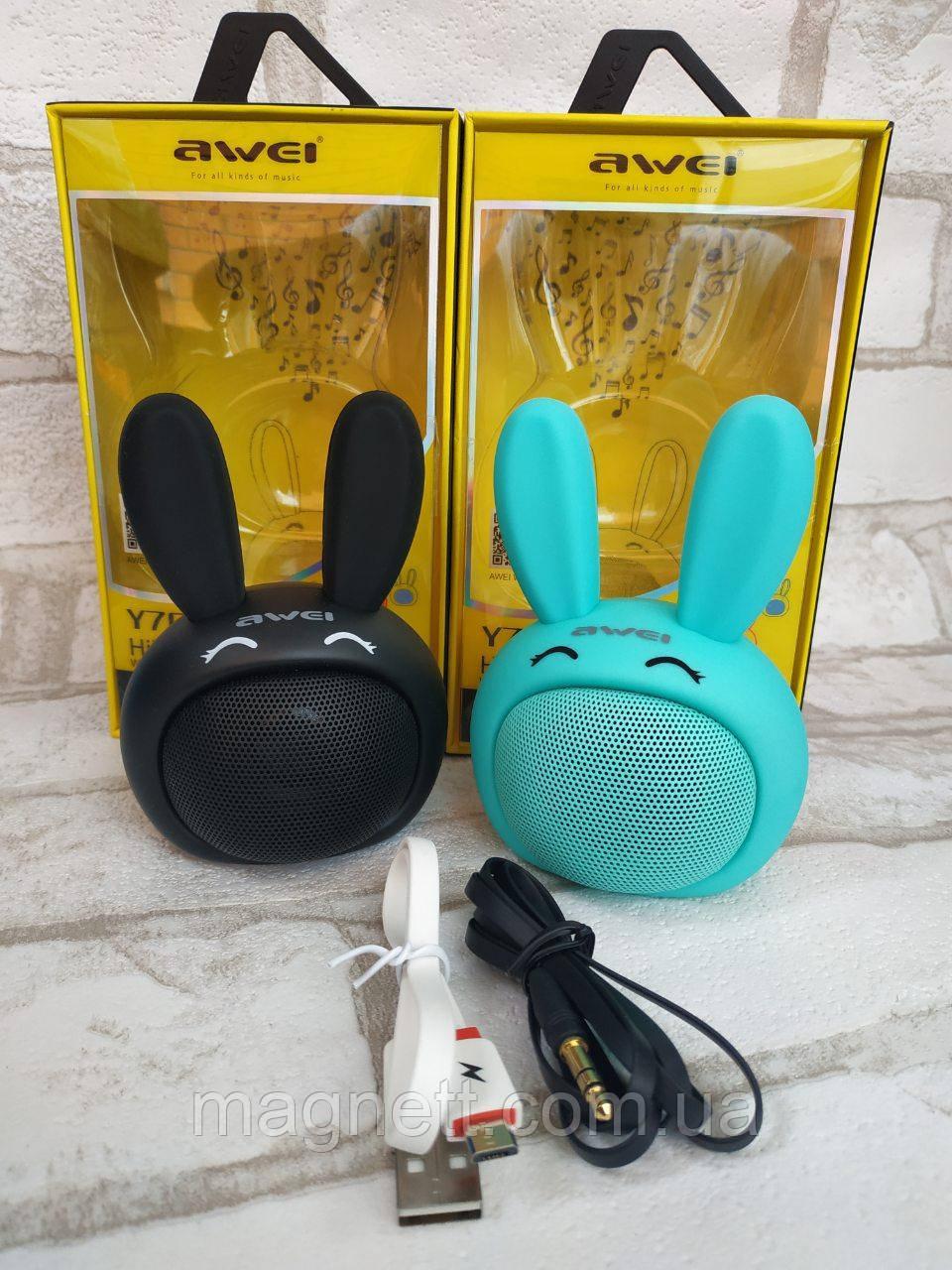 Портативная колонка AWEI Y700 1.0 3Вт Bluetooth Speaker