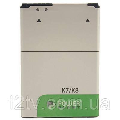 Аккумуляторная батарея PowerPlant LG K7/K8 (BL-46ZH) 2125mAh (SM160037)
