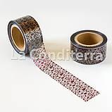 """Кондитерська бордюрна стрічка з орнаментом """"Морські камінці"""" (висота 60 мм), рулон 100 м, фото 3"""
