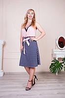 """Женская свободная юбка """"Инесса"""" размеры 46-56"""