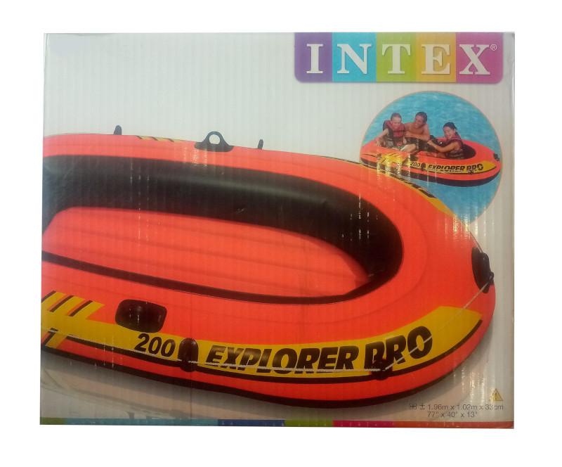 Надувная лодка Intex Explorer Pro 200
