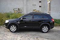 Дефлекторы окон Chevrolet CAPTIVA/Опл. Антара, 06-11. 4дв, темный / Ветровики Шевроле Каптива/Опл. Антара, 06-11. 4дв,