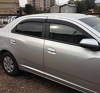 """Дефлекторы окон Chevrolet Cobalt Sd 2012 """"EuroStandard"""" / Ветровики Шевроле Кобальт Сд 2012 """" """""""