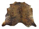 Шкіра корови стрижена під крокодила і алигатора, фото 2