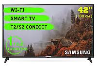 "Телевизор Самсунг Samsung 42""  Full HD SmartTV, Wi-Fi"