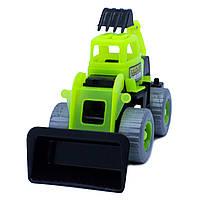 Дитяча іграшка Бульдозер Maximus «DIGGER землекоп»  арт. 5157 Зелено-Чорний