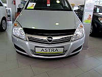 Дефлектор капота OPEL Astra H2004-