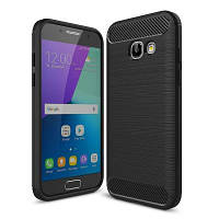 Чехол для моб. телефона для SAMSUNG GalaxyA3 2017 Carbon Fiber (Black) Laudtec (LT-A32017B)