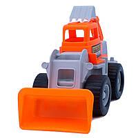 Дитяча іграшка Бульдозер Maximus «DIGGER землекоп»  арт. 5157 Оранжево-Сірий