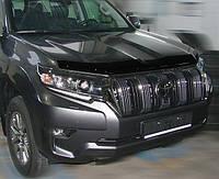 Дефлектор капота TOYOTA LAND CRUISER PRADO 150 2017- / Мухобойка Тойота Ленд Крузер ПРАДО 150 2017-