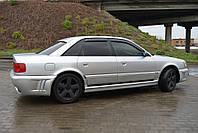 Дефлекторы окон AUDI 100 Sd (4A,C4) 1990-1994/Audi A6 Sd (4A,C4) 1990-1997 / Ветровики АУДИ 100 Сд (4А,Ц4) 1990-1994/Ауди А6 Сд (4А,Ц4) 1990-1997