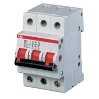 Выключатель нагрузки. ABB E203r Рубильник 3P 125A