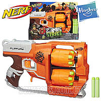 Nerf Zombie Strike Flipfury Blaster Hasbro Нерф Зомби Страйк  Флипфури Бластер A96032214