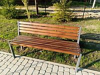 "Скамья парковая ""Соло"" 2 м с немецким покрытием BASF"