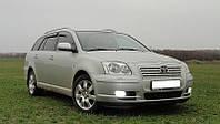 Дефлекторы окон TOYOTA Avensis Wagon 2003-2008 / Ветровики Тойота Авенсис Вагон 2003-2008