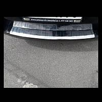 Накладка на задний бампер Volkswagen Passat B7 модельная ,нержавейка с двойным загибом,универсал