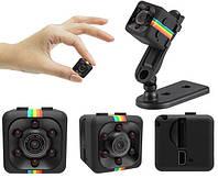 Міні камера SQ11 з нічним підсвічуванням і датчиком руху, екшн камера, фото 1