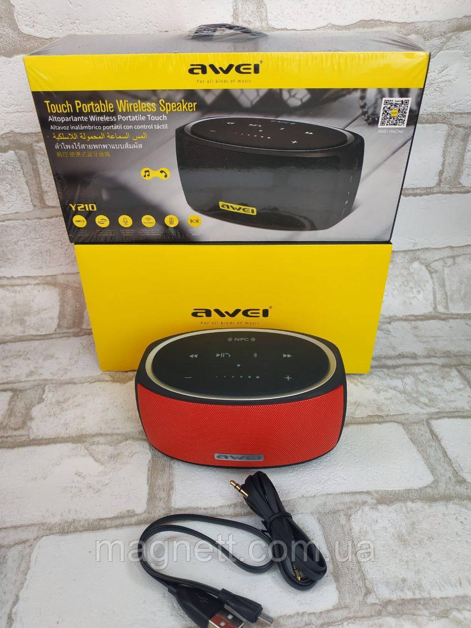 Колонка портативная Bluetooth Awei OR Y210 6Вт