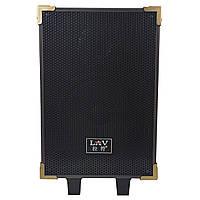 """☛Активная акустическая система 8"""" LAV Q-801 батарея 4500 мАч мощность 150W Bluetooth USB/TF FM AUX микрофон"""
