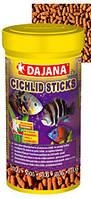Корм для рыбок Даяна Цихлид (Dajana Cichlid Sticks), хлопья 80 гр