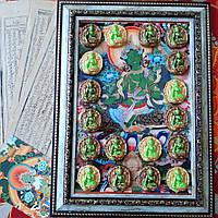 Репродукция тибетской тханки Зеленая Тара и цацА/генератор энергий