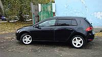 """Дефлекторы окон Volkswagen Golf VII 5d 2012 """"EuroStandart"""" / Ветровики Фольксваген Гольф В2 5д 2012 """" """""""
