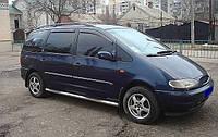 Дефлекторы окон Volkswagen Sharan 1996/Ford Galaxy 1996-2006 / Ветровики Фольксваген Шаран 1996/Форд Гелекси 1996-2006