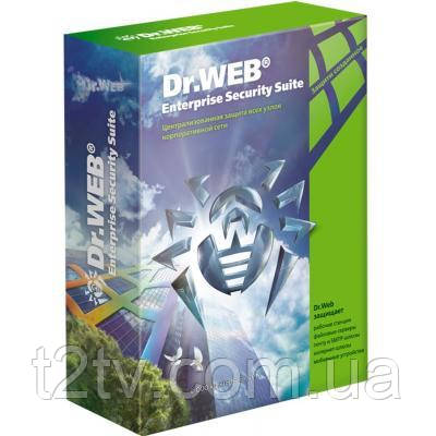 Антивирус Dr. Web Desktop Security Suite + Антивирус + ЦУ 20 ПК 1 год (новая л (LBW-AC-12M-20-A3)