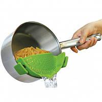 Кухонный силиконовый дуршлаг Better Strainer