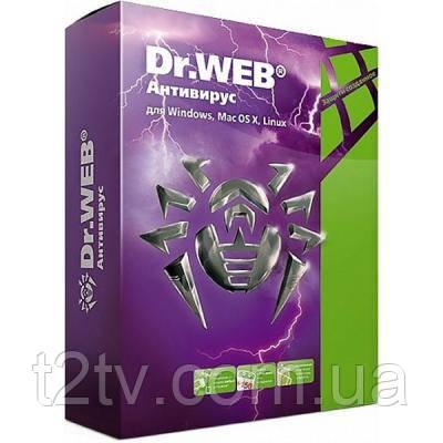 Антивирус Dr. Web Антивирус 3 ПК 2 года (новая лицензия) (LHW-AK-24M-3-A3)
