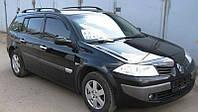 Дефлекторы окон RENAULT Megane II wagon 5d 2002-2008 / Ветровики Рено Мегане 2 Вагон 5д 2002-2008