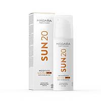 Сонцезахисний ультралегкий молочко SPF20 Madara, 150 мл, фото 1