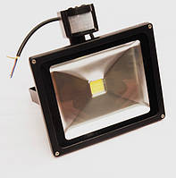 Прожектор светодиодный YMFL-30Вт с датчиком движения 220В