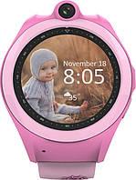 Наручные часы UWatch Смарт-часы UWatch Q610 Kid wifi gps smart watch Pink F_52919