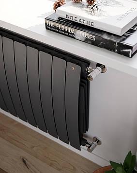 TERMA Алюмінієвий радіатор Camber 575*800 Black