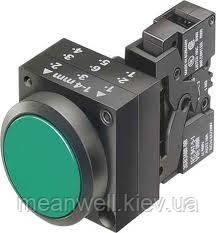 Кнопка нажимная Siemens 3SB 3SB32 02-0AA41 22 mm,пластик