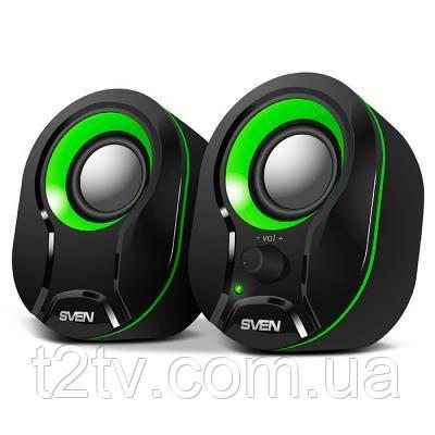 Акустическая система SVEN 290 black-green