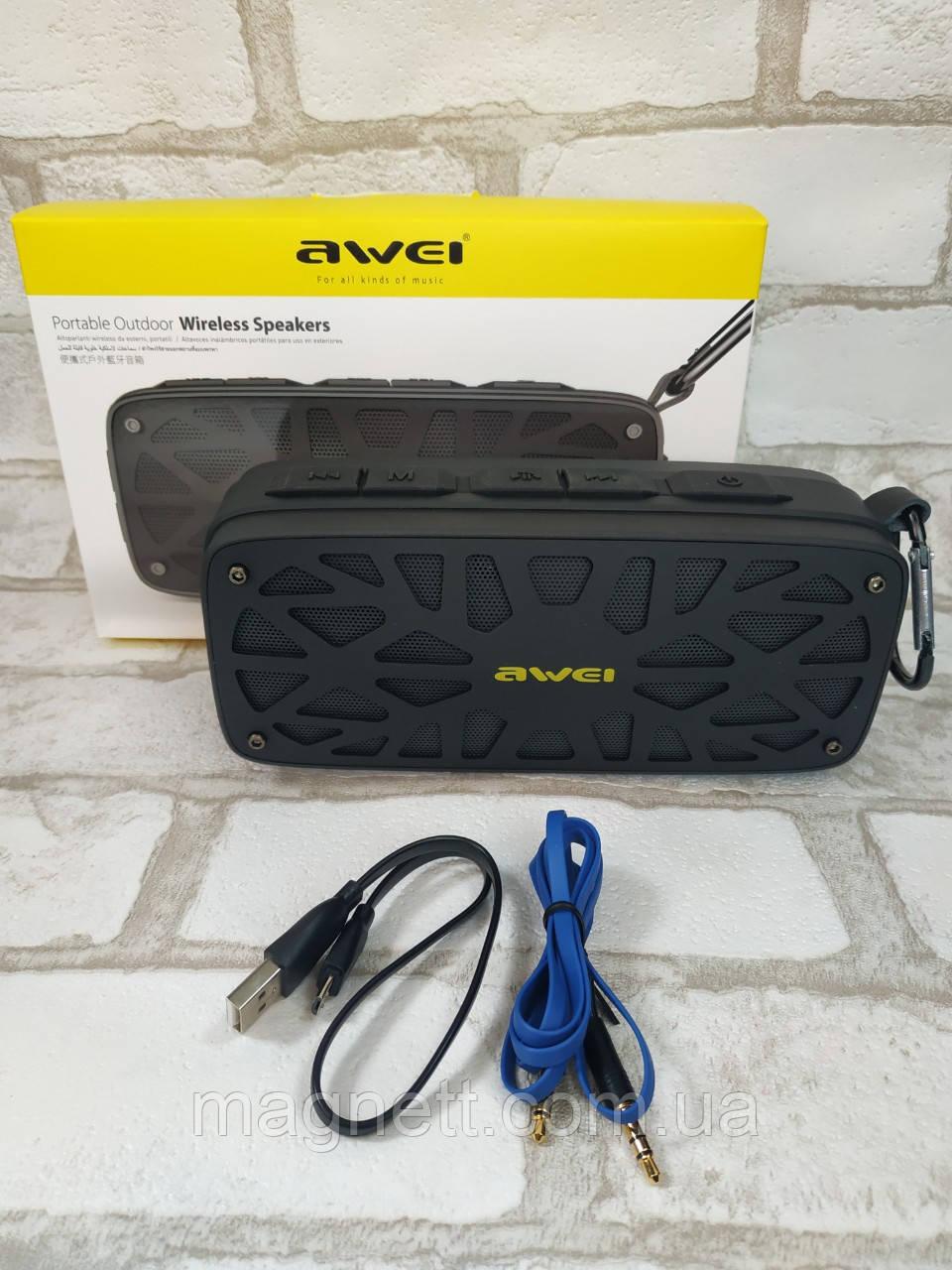 Колонка портативная Bluetooth Awei OR Y330 6Вт