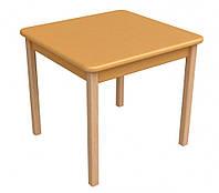 Детский столик Верес дерево/пленка МДФ оранжевый 29.2.21