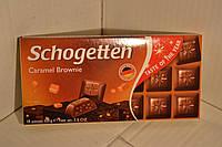 Шоколад Schogetten Caramel Brownie, 100 г ,Германия