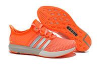 Женские кроссовки Adidas Climachill Gazelle Boost orange, фото 1