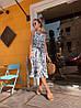 Модное красивое женское платье макси