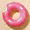 Надувной круг Пончик с ручками, 60 см., фото 2