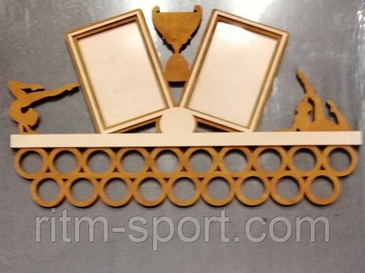 Медальница с рамками для фотографий